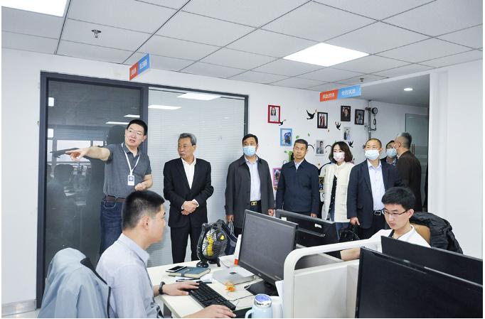 河北省政协专题协商工作组赴瑞诺国际调研指导